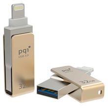 PQI i-Connect mini OTG USB 3.0 Flash Memory 32GB